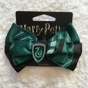 ✨NEW✨ Harry Potter Slytherin Hair Bow / Brooch Pin